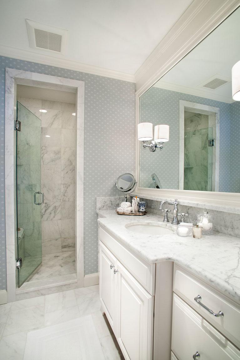 Bathroom Remodeling St Louis master bathroom remodel - ladue -roeser home remodeling