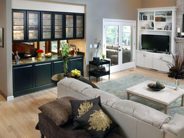 Living Room remodel - Roeser Home Remodeling St. Louis