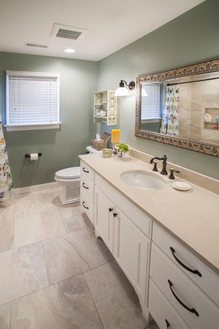 Cost To Remodel A Kitchen: Bathroom Remodel St. Louis -Roeser Home Remodeling