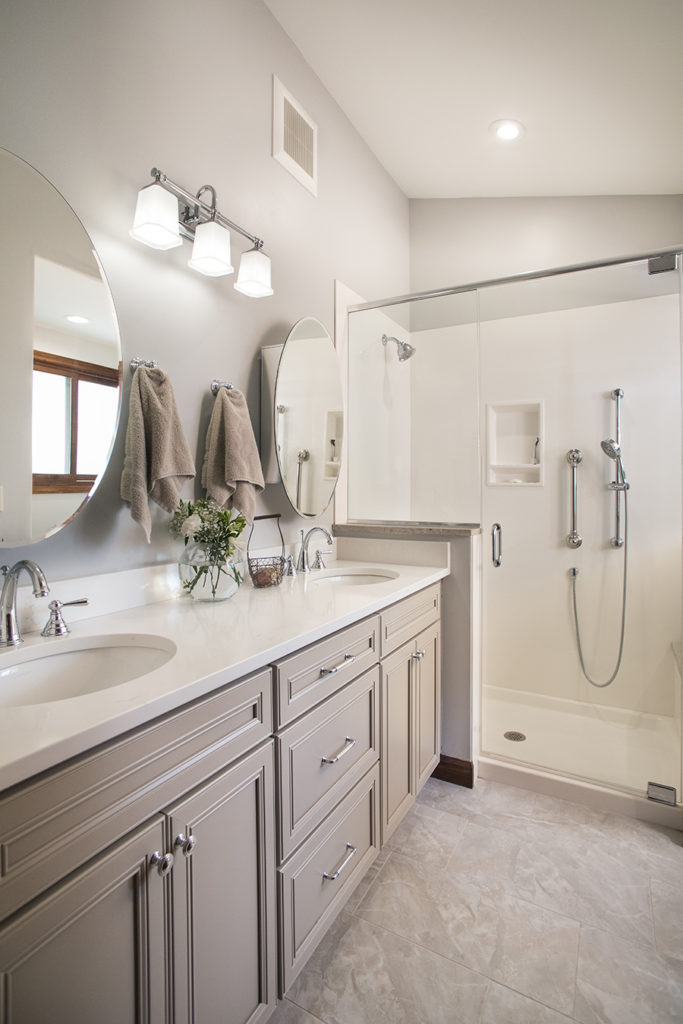 Mid-Century Kitchen and Bath Remodel