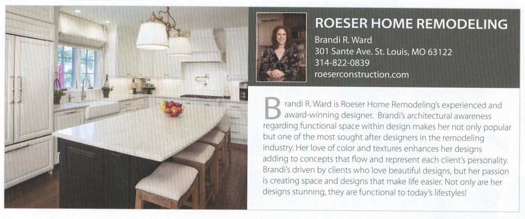 Brandi Ward Roeser Home Remodeling