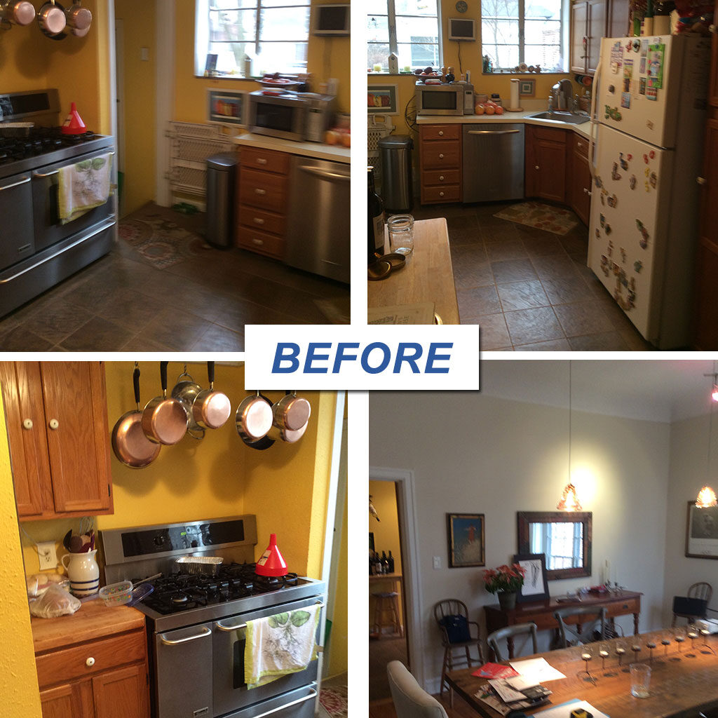 Repeat Client – Kirkwood Kitchen Remodel before