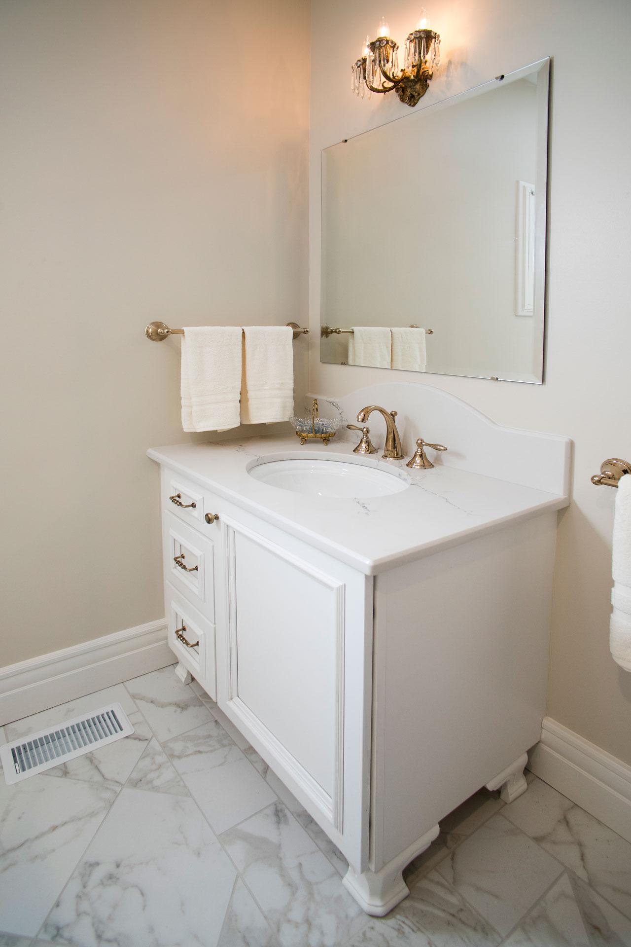 Master Bathroom Vanity Dressing Room Remodel Roeser Home Remodeling