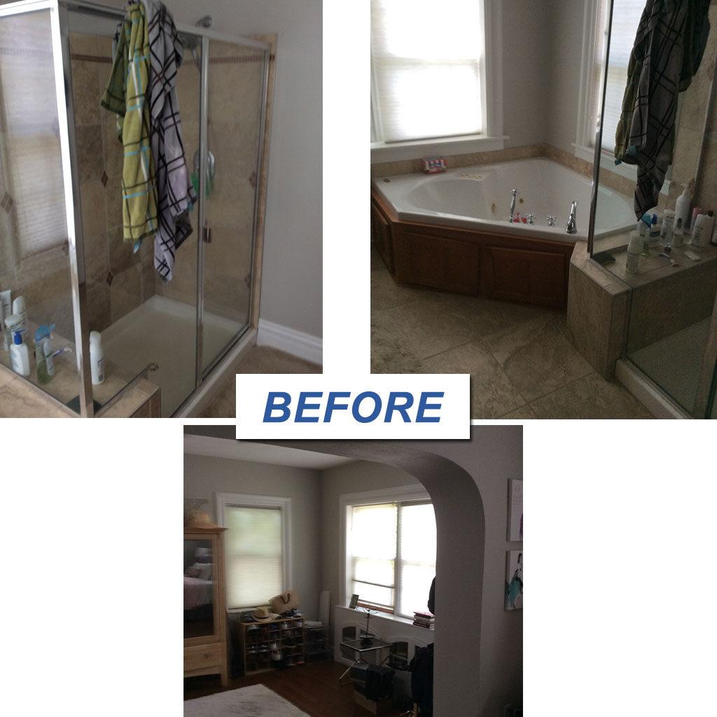 U City Master Bathroom/Mudroom Remodel