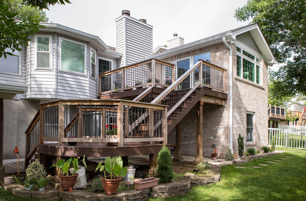 Home Addition, bedroom, and deck